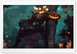 Halloween Heroes of Newerth HoN Jack-o-lantern Ultra HD Wallpaper for 4K UHD Widescreen desktop, tablet & smartphone