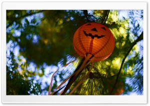 Halloween Lanterns HD Wide Wallpaper for Widescreen