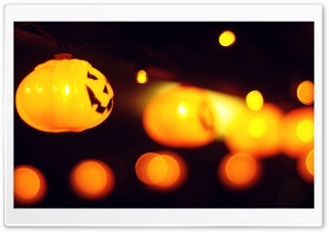 Halloween Lights HD Wide Wallpaper for Widescreen