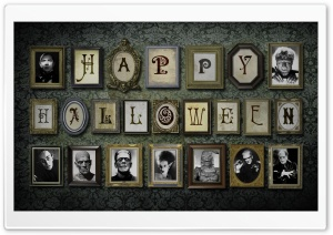 Halloween Monsters HD Wide Wallpaper for Widescreen