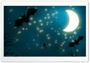 Halloween Night HD Wide Wallpaper for Widescreen