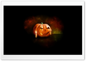 Halloween Pumpkin HD Wide Wallpaper for 4K UHD Widescreen desktop & smartphone