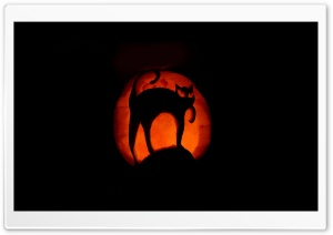 Halloween Pumpkin Art HD Wide Wallpaper for Widescreen