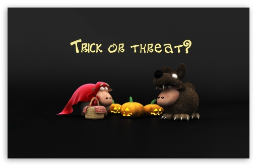 Halloween Sheeps Trick Or Threat Screen HD wallpaper for Wide 16:10 5:3 Widescreen WHXGA WQXGA WUXGA WXGA WGA ; HD 16:9 High Definition WQHD QWXGA 1080p 900p 720p QHD nHD ; Standard 4:3 5:4 3:2 Fullscreen UXGA XGA SVGA QSXGA SXGA DVGA HVGA HQVGA devices ( Apple PowerBook G4 iPhone 4 3G 3GS iPod Touch ) ; Tablet 1:1 ; iPad 1/2/Mini ; Mobile 4:3 5:3 3:2 16:9 5:4 - UXGA XGA SVGA WGA DVGA HVGA HQVGA devices ( Apple PowerBook G4 iPhone 4 3G 3GS iPod Touch ) WQHD QWXGA 1080p 900p 720p QHD nHD QSXGA SXGA ;