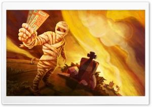 Halloween Tickets Ultra HD Wallpaper for 4K UHD Widescreen desktop, tablet & smartphone
