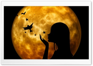 Halloween Wish HD Wide Wallpaper for Widescreen