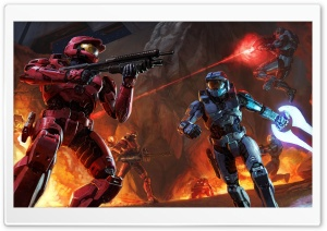 Halo HD Wide Wallpaper for Widescreen