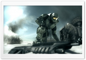 Halo 3 HD Wide Wallpaper for Widescreen