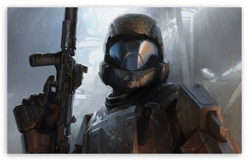 Download Halo 3 ODST   The Rookie UltraHD Wallpaper