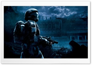 Halo 3 ODST Master Chief HD Wide Wallpaper for Widescreen