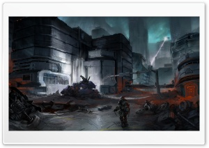 Halo 3 ODST Video Game HD Wide Wallpaper for Widescreen