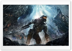 Halo 4 (2012) HD Wide Wallpaper for Widescreen