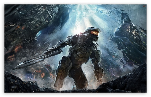 Halo 4 (2012) HD wallpaper for Standard 4:3 5:4 Fullscreen UXGA XGA ...