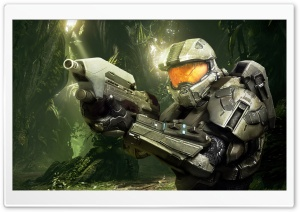 Halo 4 Jungle From Jacob Stamm HD Wide Wallpaper for Widescreen