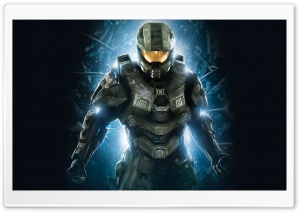 Halo 4 Master Chief HD Wide Wallpaper for Widescreen