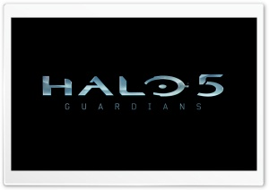 Halo 5 Guardians Logo 2014 HD Wide Wallpaper for Widescreen