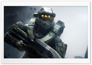 Halo 5 Guardians Master Chief 2015 Video Game Background HD Wide Wallpaper for Widescreen
