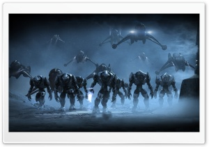 Halo Army HD Wide Wallpaper for Widescreen