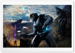 Halo Concept Art HD Wide Wallpaper for 4K UHD Widescreen desktop & smartphone