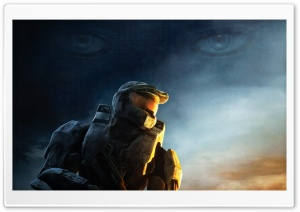 Halo Game Master Chief HD Wide Wallpaper for Widescreen