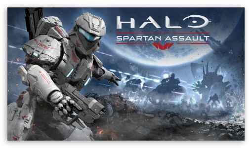 Download Halo Spartan Assault HD Wallpaper