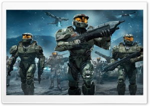 Halo Troopers PS3 HD Wide Wallpaper for Widescreen