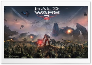 Halo Wars 2 HD Wide Wallpaper for Widescreen