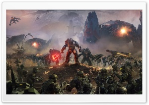 Halo Wars 2 Atriox Battlefield HD Wide Wallpaper for 4K UHD Widescreen desktop & smartphone