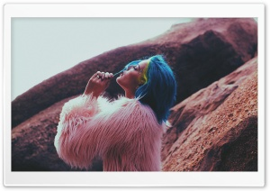 Halsey Badlands HD Wide Wallpaper for Widescreen
