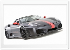 Hamann Ferrari F430 Black Miracle HD Wide Wallpaper for Widescreen