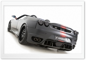 Hamann Ferrari F430 Black Miracle 9 HD Wide Wallpaper for 4K UHD Widescreen desktop & smartphone