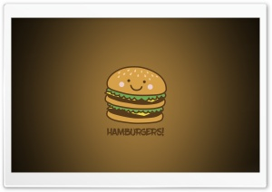 Hamburger Ultra HD Wallpaper for 4K UHD Widescreen desktop, tablet & smartphone
