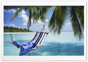 Hammock Maldives HD Wide Wallpaper for Widescreen