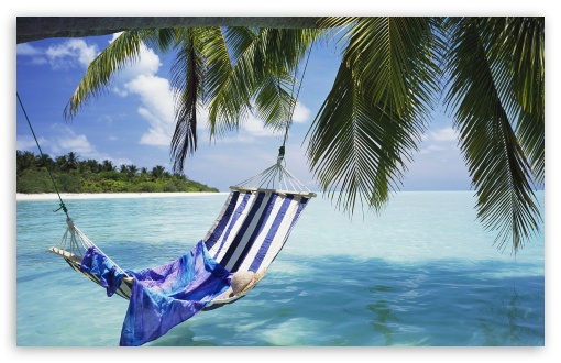 Hammock Maldives HD wallpaper for Wide 16:10 5:3 Widescreen WHXGA WQXGA WUXGA WXGA WGA ; HD 16:9 High Definition WQHD QWXGA 1080p 900p 720p QHD nHD ; Standard 4:3 5:4 3:2 Fullscreen UXGA XGA SVGA QSXGA SXGA DVGA HVGA HQVGA devices ( Apple PowerBook G4 iPhone 4 3G 3GS iPod Touch ) ; Tablet 1:1 ; iPad 1/2/Mini ; Mobile 4:3 5:3 3:2 16:9 5:4 - UXGA XGA SVGA WGA DVGA HVGA HQVGA devices ( Apple PowerBook G4 iPhone 4 3G 3GS iPod Touch ) WQHD QWXGA 1080p 900p 720p QHD nHD QSXGA SXGA ;