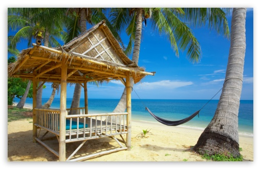 Hammock On The Beach HD wallpaper for Wide 16:10 5:3 Widescreen WHXGA WQXGA WUXGA WXGA WGA ; HD 16:9 High Definition WQHD QWXGA 1080p 900p 720p QHD nHD ; Standard 4:3 5:4 3:2 Fullscreen UXGA XGA SVGA QSXGA SXGA DVGA HVGA HQVGA devices ( Apple PowerBook G4 iPhone 4 3G 3GS iPod Touch ) ; Tablet 1:1 ; iPad 1/2/Mini ; Mobile 4:3 5:3 3:2 16:9 5:4 - UXGA XGA SVGA WGA DVGA HVGA HQVGA devices ( Apple PowerBook G4 iPhone 4 3G 3GS iPod Touch ) WQHD QWXGA 1080p 900p 720p QHD nHD QSXGA SXGA ;