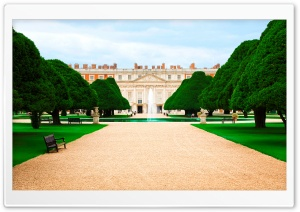 Hampton Court Palace HD Wide Wallpaper for Widescreen