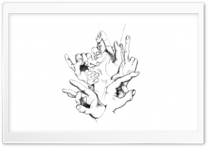 Hand Signs HD Wide Wallpaper for Widescreen