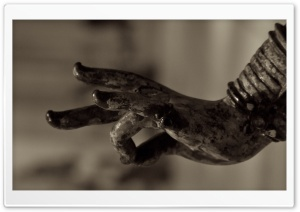 Hand Statue HD Wide Wallpaper for Widescreen
