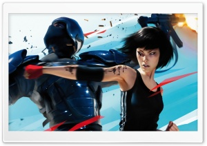 Hand to Hand Combat   Mirror's Edge HD Wide Wallpaper for Widescreen