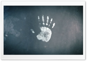 Handprint HD Wide Wallpaper for Widescreen