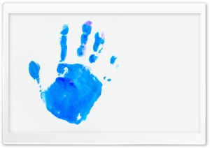 Handprint Background HD Wide Wallpaper for Widescreen