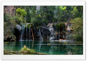 Hanging Lake, Colorado HD Wide Wallpaper for 4K UHD Widescreen desktop & smartphone