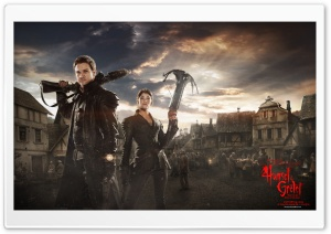 Hansel And Gretel Witch Hunters 2013 HD Wide Wallpaper for 4K UHD Widescreen desktop & smartphone
