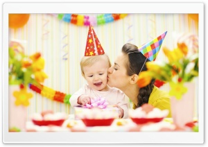 Happy Birthday Sweety Ultra HD Wallpaper for 4K UHD Widescreen desktop, tablet & smartphone