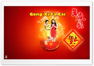Happy Chinese New Year 01 HD Wide Wallpaper for Widescreen