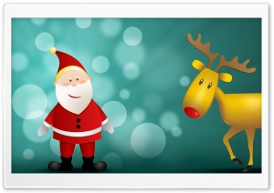 Happy Christmas HD Wide Wallpaper for Widescreen