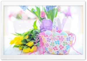 Happy Easter 2020 Ultra HD Wallpaper for 4K UHD Widescreen desktop, tablet & smartphone