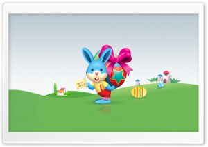 Happy Easter HD Wide Wallpaper for Widescreen