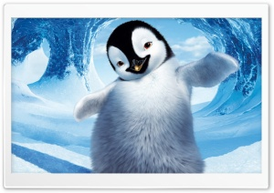 Happy Feet 2 HD Wide Wallpaper for Widescreen