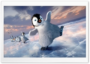 Happy Feet Two HD Wide Wallpaper for Widescreen